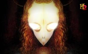 Spiegelt man die Gemälde von da Vinci, sollen Portraits von Außerirdischen erscheinen.