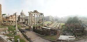 Die Trümmer Roms - vielen machen sie in der heutigen Zeit Angst. Doch wo sind die Historiker und Archäologen, die diese Ängste nehmen oder zumindest relativieren können? (Quelle: Wikimedia; Foto: José Ramón Polo López; Lizenz: CC BY-SA 3.0).